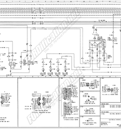 1973 1979 ford truck wiring diagrams schematics fordification net 1966 ford f100 wiring diagram 1975 ford wiring diagram [ 3798 x 1919 Pixel ]
