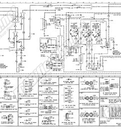 1973 1979 ford truck wiring diagrams schematics fordification net rh fordification net 1978 ford f150 starter solenoid wiring diagram 78 ford f150  [ 2788 x 1401 Pixel ]
