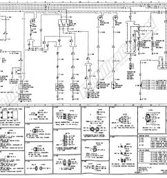 1973 1979 ford truck wiring diagrams schematics fordification net ford eec iv schematic 1974 ford wiring schematic [ 3751 x 1888 Pixel ]