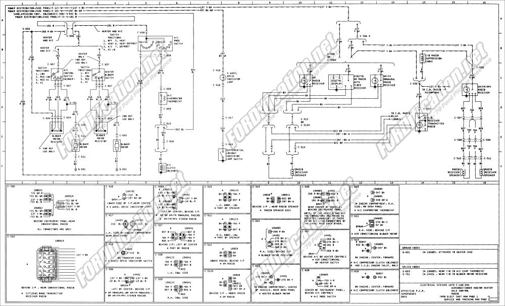 medium resolution of 1973 1979 ford truck wiring diagrams schematics fordification net 97 ford f 250 wiring schematic 79 ford f 250 wiring schematic