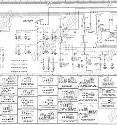 1973 1979 ford truck wiring diagrams schematics fordification net 99 f150 wiring diagram wiring diagram for 78 f150 ranger [ 3716 x 2258 Pixel ]