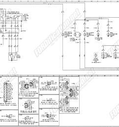 1973 1979 ford truck wiring diagrams schematics fordification net alternator ford schematic diagrams ford diagrams [ 3727 x 2261 Pixel ]