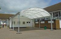 School Canopy & Rushey Green Primary School