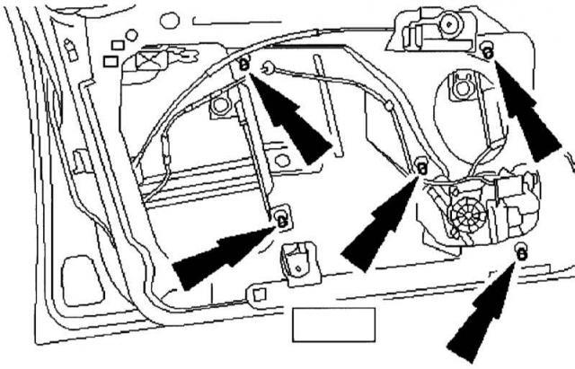 Стеклоподъемник Ford Mondeo 3