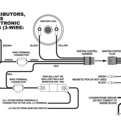 Ignition Coil Distributor Wiring Diagram Intelligence Cycle Mallory Diagrams Clicks