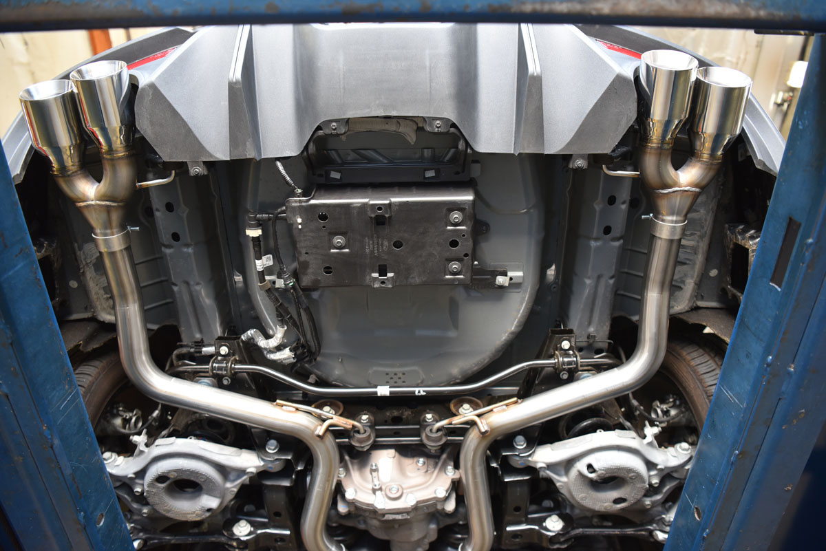 2018 2019 ford mustang gt exhaust systems
