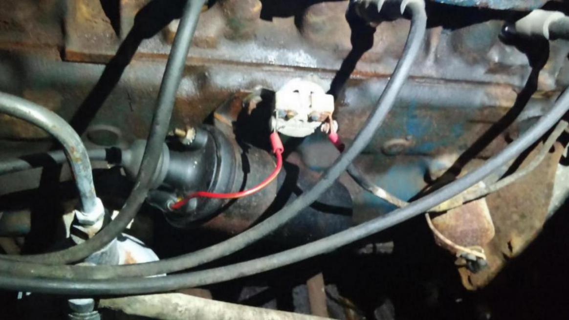 Resistor Wire 65 Mustang