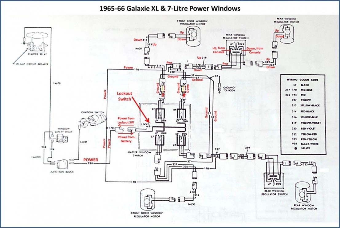 [WRG-8908] 66 Ford Fairlane Wiring Diagrams Regulator