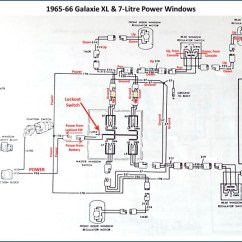 Simple 3 Way Switch Wiring Diagram Trailer Marker Lights Power Window Conversion - 1966 Thunderbird Switches In Galaxie Ford Muscle Forums : ...