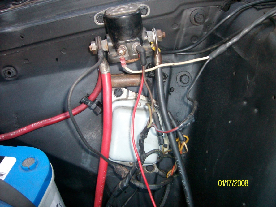 1986 ford f150 starter solenoid wiring diagram cotton plant anatomy no electrical power - muscle forums : cars tech forum