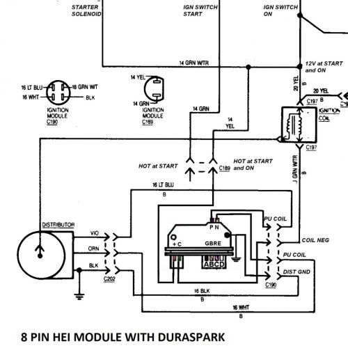 small resolution of dodge ignition module with a duraspark page 2 ford muscle forums ignition module wiring click image