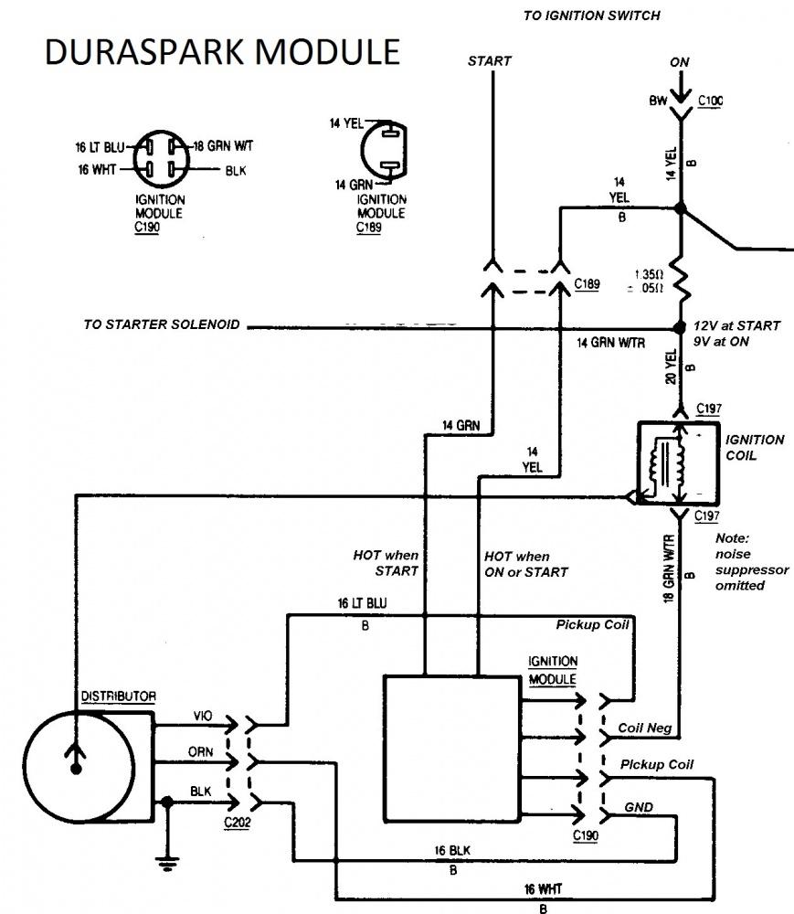 350 tbi ignition wiring diagram