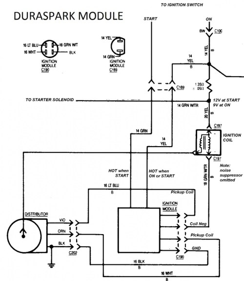 small resolution of dodge ignition module with a duraspark page 2 ford muscle forums duraspark 2 wiring diagram duraspark wiring chrysler