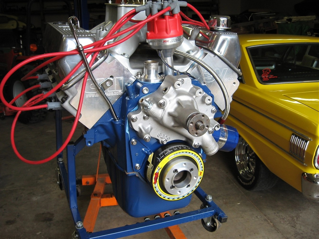 hight resolution of clapper starter fits clevland transmission 1995 ford windsor 351 set timing the free service manual 351cubic inch engines both offered horsepower until