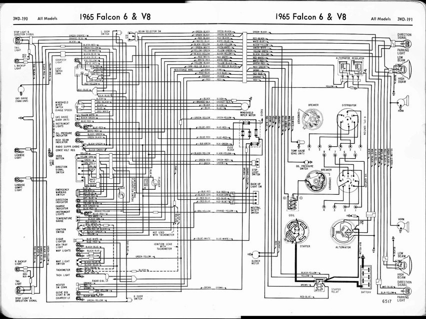 race car alternator wiring diagram vintage pin curls 64 hardtop ignition switch help - ford muscle forums : cars tech forum