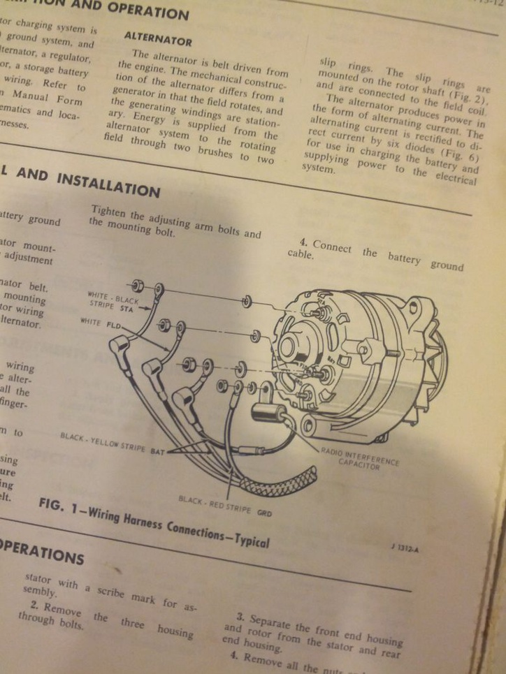 Ford 3 Post Solenoid Wiring Diagram 1966 Alternator Regulator Wiring Ford Muscle Forums