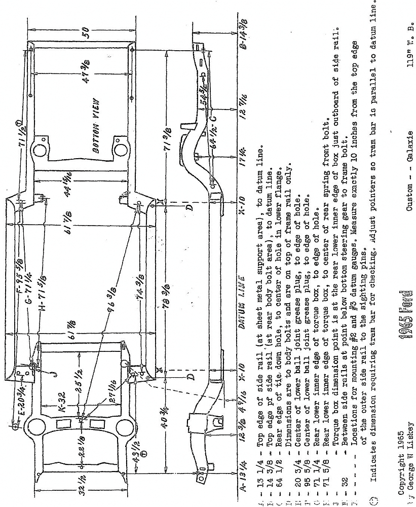 65 Ford Galaxie Wiring Diagram • Wiring Diagram For Free