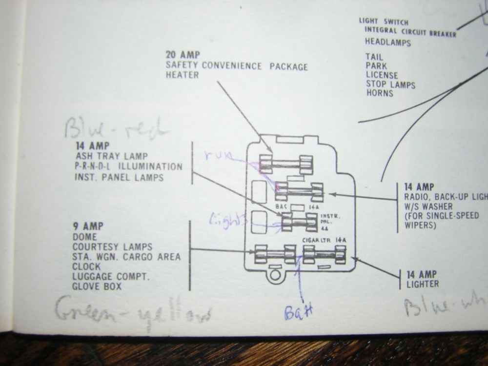 medium resolution of 1962 ford fuse box wiring diagram technic 1962 ford galaxie fuse box location 1962 falcon fuse