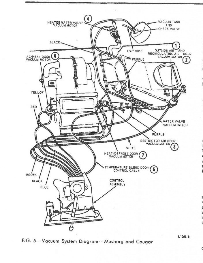 1971-1972 Ford Mustang Electrical Wiring Assembly Manual