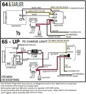 Generator To Alternator Conversion Pictures