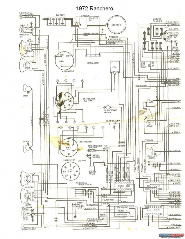 1973 Ford Ltd Wiring Diagram
