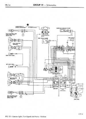 back up lights diagram 68 torino  Ford Muscle Forums