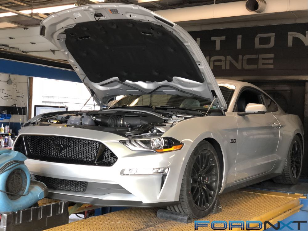 medium resolution of bolt on na 2018 mustang blasts out over 500 rwhp engine