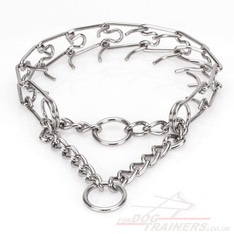 Buy Stainless Steel Prong Collar for Dogs for Sale from