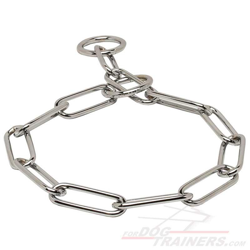 Choose Dog Training Choke Collar of Stainless Steel