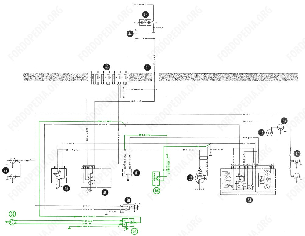 medium resolution of interior lamp wiring wiring diagram forward fordopedia org interior lamp wiring