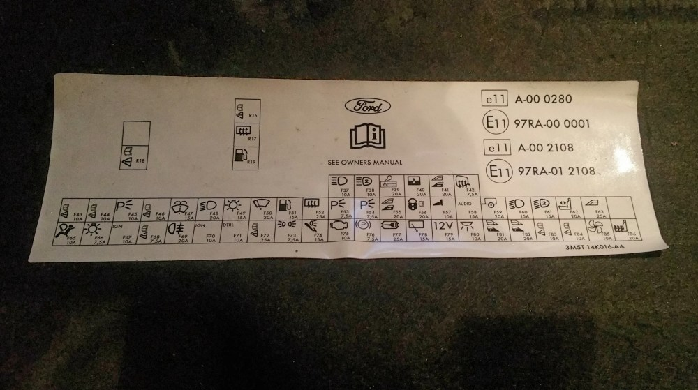 medium resolution of ford focus 55 fuse box wiring diagram blog ford focus 55 fuse box