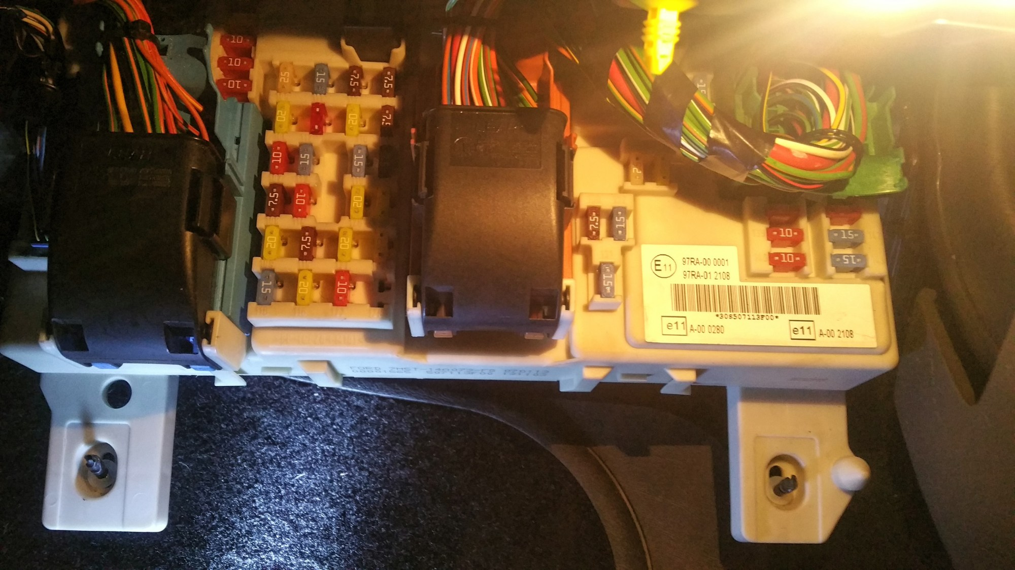 hight resolution of central fuse box seems wrong ford focus club ford owners club ford focus 55 fuse box