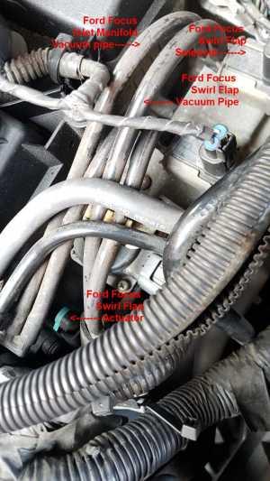Focus 20 petrol EML P2008 code  Swirl flaps air shut off solenoid fault?  Ford Focus Club