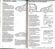 User Manual 1995 Ford Probe
