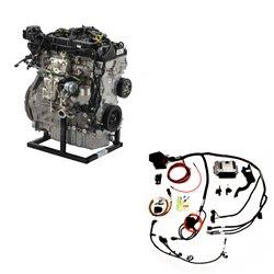 427 CUBIC INCH 600 HP ALUMINUM CRATE ENGINE-REAR SUMP PAN