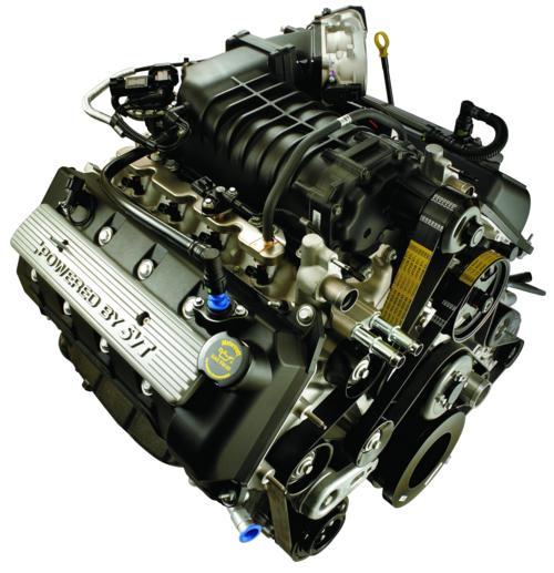 500 hestes SVT Cobra V8