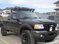 New ford ranger roof racks