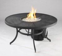 Nightfire-42- Round Mesh Fire Pit Table - Ford's Fuel and ...