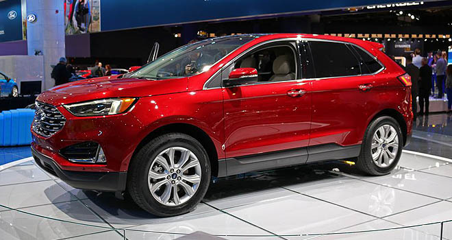 Ford Edge Detroitcarshow