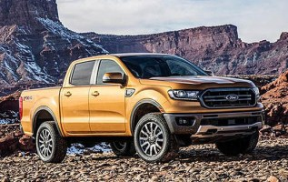 2019 Ford Ranger front side