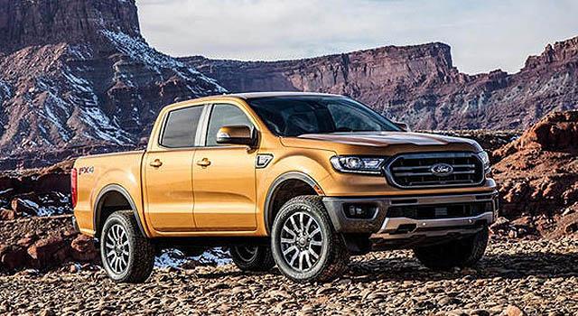 2019 Ford Ranger front side