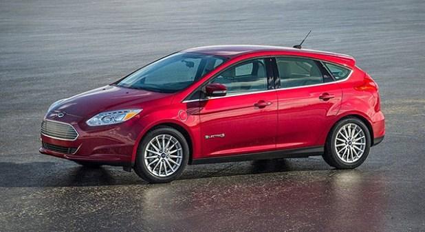 2019 Ford Focus Electric exterior