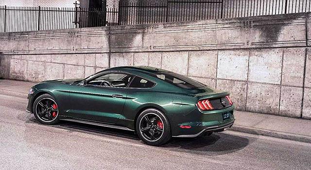 2019 Ford Mustang Bullit side