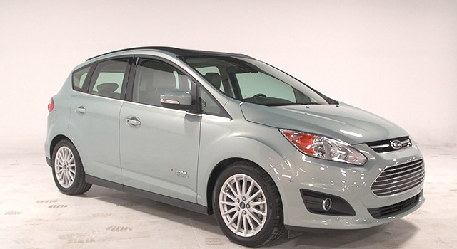 Ford C-Max Solar Energi front side