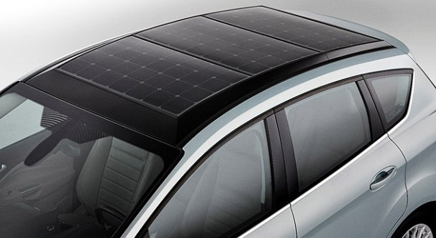 Ford C-Max Solar Energi roof