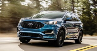 2019 Ford Edge Sport front