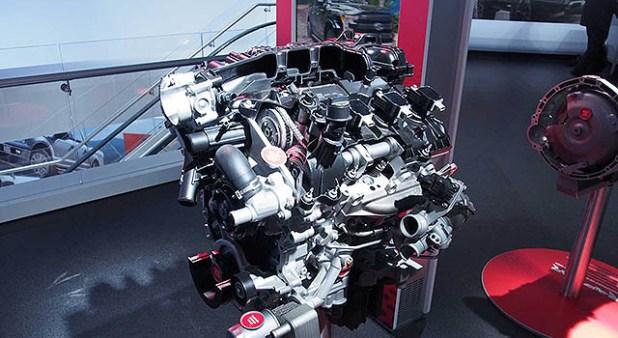 2019 Ford F-150 Raptor engine