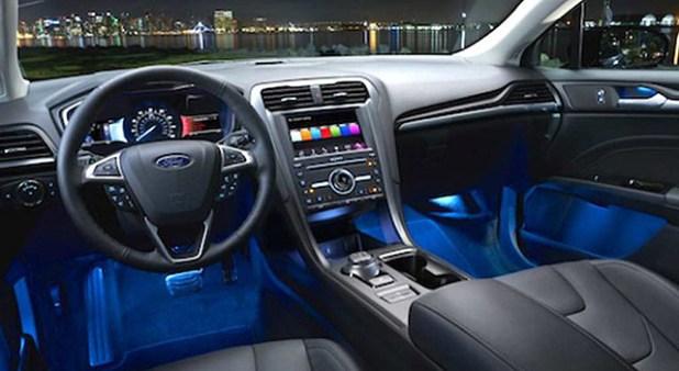 2019 Ford Fusion Sport interior