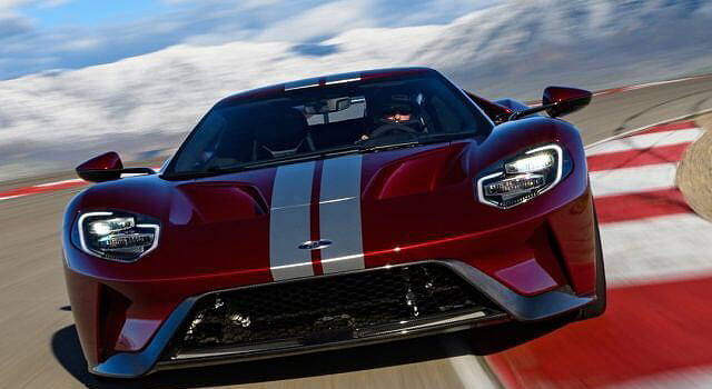 Ford Gt Front