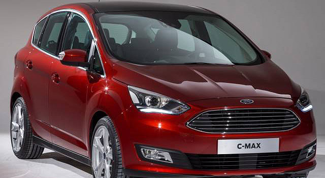 2019 Ford C-Max Hybrid front